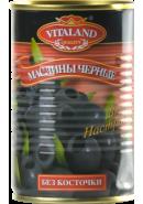 VITALAND-МАСЛИНЫ ЧЕРНЫЕ Б/К 3100мл.*6