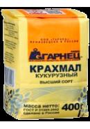 """""""ГАРНЕЦ"""" - КРАХМАЛ КУКУРУЗНЫЙ 400гр.*6"""
