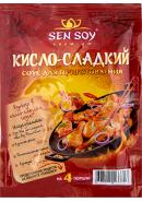 SEN SOY Premium-СОУС Д/ПРИГОТОВЛЕНИЯ 120гр.*15-КИСЛО-СЛАДКИЙ пак.