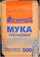 """ГАРНЕЦ"" - МУКА ГРЕЧНЕВАЯ 500гр.*6"