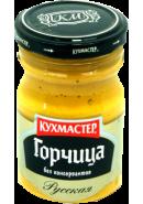 КУХМАСТЕР- ГОРЧИЦА 190гр.*12*РУССКАЯ ст.