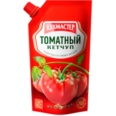 "КУХМАСТЕР-КЕТЧУП 260гр.*20""ТОМАТНЫЙ"" Д/П"