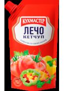 """КУХМАСТЕР-КЕТЧУП 260гр.*20""""ЛЕЧО"""" Д/П"""