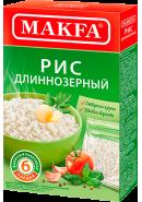 """""""MAKFA"""" РИС ДЛИННОЗЕРНЫЙ 400гр.(6 порций)*15 (101-4) (1149-АК)"""