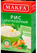 """""""MAKFA"""" РИС КРУГ. 400гр.(6 порций)*15 (102-4) (1151-АК)"""