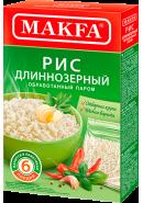 """MAKFA"" РИС  ОБР.ПАРОМ 400гр.(6 порций)*15  (1150-АК)"
