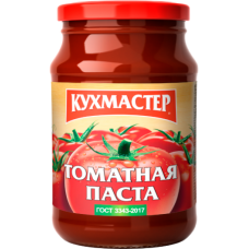 КУХМАСТЕР-ПАСТА ТОМАТНАЯ  ГОСТ 750гр.*6
