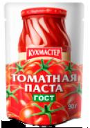 КУХМАСТЕР-ПАСТА ТОМАТНАЯ ГОСТ  90гр.*50 Д/П