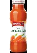 """КУХМАСТЕР-СОК """"МОРКОВНЫЙ"""" 0,7л*8 стекло"""