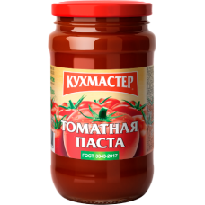 КУХМАСТЕР-ПАСТА ТОМАТНАЯ ГОСТ  400гр.*12