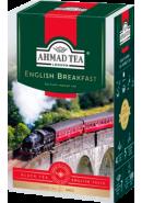 """Чай """"Ahmad Tea"""" ЧЕРНЫЙ ЛИСТ. 200гр.*12- Английский завтрак (1292-012)"""