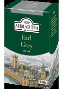"""Чай """"Ahmad Tea"""" ЧЕРНЫЙ ЛИСТ. 100гр.*12- Эрл Грей (1300-2)"""