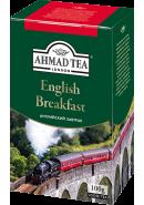 """Чай """"Ahmad Tea"""" ЧЕРНЫЙ ЛИСТ. 100гр.*12- Английский завтрак (1301-2)"""