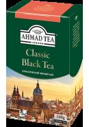 """Чай """"Ahmad Tea"""" ЧЕРНЫЙ ЛИСТ. 100гр.*12- «Классический» (1567-1)"""
