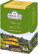 "Чай ""Ahmad Tea"" ЗЕЛЕНЫЙ ЛИСТ. 200гр.*12- «Китайский» (1571)"