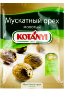 KOTANYI - МУСКАТНЫЙ ОРЕХ МОЛОТЫЙ 18гр.*25