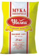 УВЕЛКА-МУКА ПШЕНИЧНАЯ В/С 25кг.