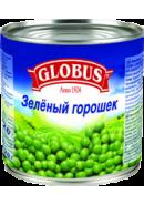 GLOBUS- ГОРОШЕК ЗЕЛЕНЫЙ 400гр.*12 Ж/Б