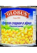 GLOBUS- КУКУРУЗА СЛАДКАЯ 340гр.*12