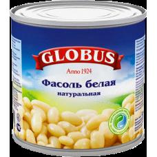 GLOBUS- ФАСОЛЬ БЕЛАЯ 400гр.*12 Ж/Б