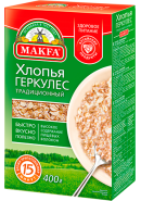 """MAKFA"" ХЛОПЬЯ ГЕРКУЛЕС ТРАДИЦ. 400гр.*12"