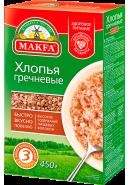 """""""MAKFA"""" ХЛОПЬЯ ГРЕЧНЕВЫЕ 450гр.*12"""