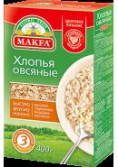 """""""MAKFA"""" ХЛОПЬЯ ОВСЯНЫЕ 400гр.*12"""